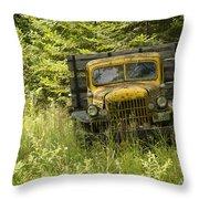 Pend Oreille Power Wagon Throw Pillow