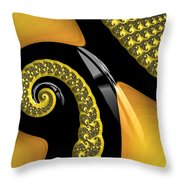 Penguin Revisited Throw Pillow