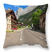 Penia - Canazei Throw Pillow