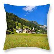 Penia - Fassa Valley Throw Pillow