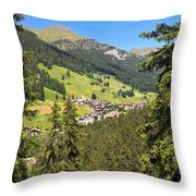 Penia - Val Di Fassa Throw Pillow