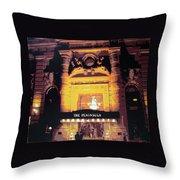 Peninsula Hotel New York Throw Pillow