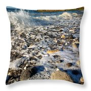 Penmon Isle Of Anglesey Throw Pillow