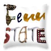 Penn State Throw Pillow