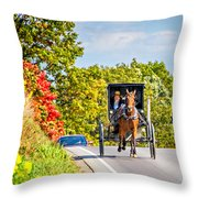 Pennsylvania Amish Throw Pillow