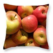 Pennsylvania Apples Throw Pillow