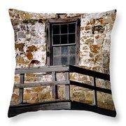 Pennsylvania Field Stone Throw Pillow