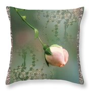 Penny Postcard Chinoiserie Throw Pillow