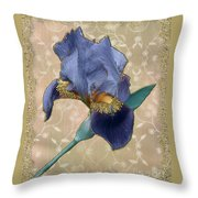 Penny Postcard Florentine Throw Pillow