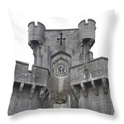 Penrhyn Castle 2 Throw Pillow