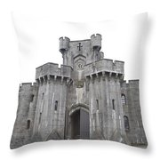 Penrhyn Castle 3 Throw Pillow