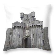 Penrhyn Castle 3 Throw Pillow