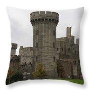 Penrhyn Castle 4 Throw Pillow