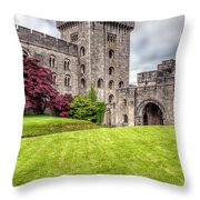 Castle Grounds Throw Pillow