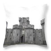 Penrhyn Castle Throw Pillow