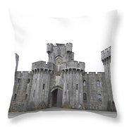 Penrhyn Castle Throw Pillow