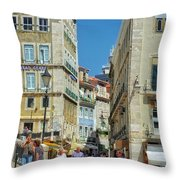 Pensao Geres - Lisbon Throw Pillow