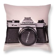 Pentax Film Throw Pillow