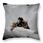 Peony Lovely Throw Pillow