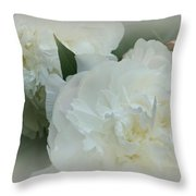 Peony Soft Throw Pillow