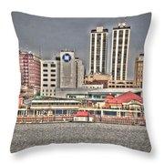 Peoria City Throw Pillow