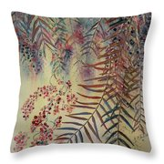 Pepper Tree Throw Pillow