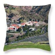 Pepperdine University On A Hill Throw Pillow