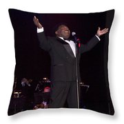 Percy Sledge Throw Pillow by Carol Highsmith