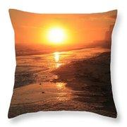 Perdido Key Sunburst Throw Pillow