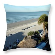 Perfect Beach Day Throw Pillow