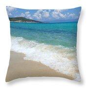 Perfect Beach Throw Pillow