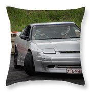 Perfect Drift Throw Pillow
