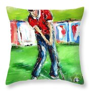 Ideal Gift For Golfing Husband Throw Pillow