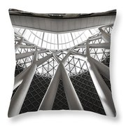 Perfect Lines Throw Pillow