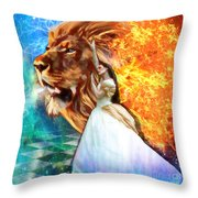 Perfect Peace In Perfect Love Throw Pillow by Dolores Develde
