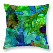 Perfect Petals And Spring Showers Throw Pillow