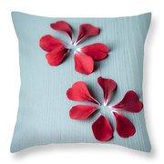 Perfect Petals Throw Pillow