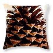 Perfect Pinecone Throw Pillow
