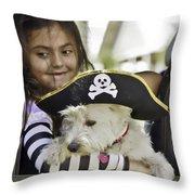 Perfect Pirates Throw Pillow