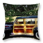 Perfect Plymouth Throw Pillow