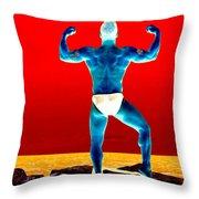 Perfect Pose Throw Pillow