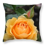 Perfect Rose Throw Pillow