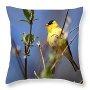 Perfect Shade Of Yellow Throw Pillow