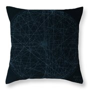 Perfect Square Throw Pillow by Jason Padgett