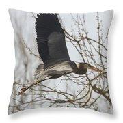Perfect Stick Throw Pillow