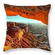 Perfect Sunrise Throw Pillow