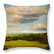 Perfect Valley Throw Pillow by Brett Pfister