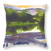 Perfectly Still Throw Pillow