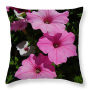Perfectly Three Throw Pillow