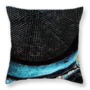 Perforated I Throw Pillow